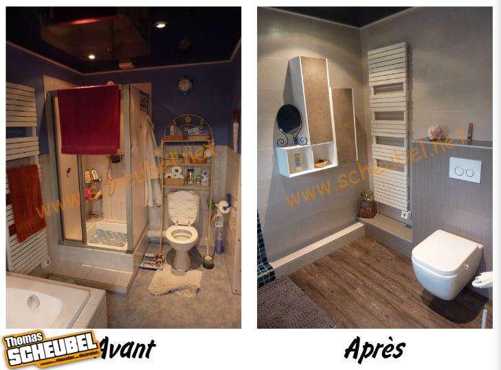 r novation d 39 une salle de bain compl te thomas scheubel. Black Bedroom Furniture Sets. Home Design Ideas