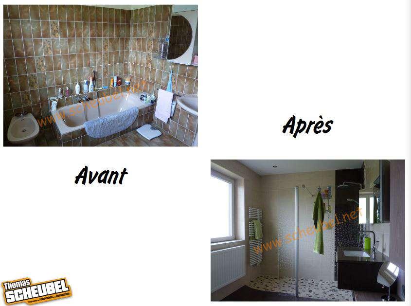 Remplacement d 39 une baignoire par une douche thomas scheubel - Remplacement d une baignoire par une douche ...