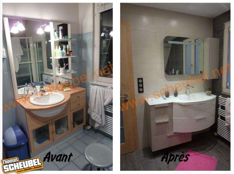 Remplacement d 39 une baignoire par une douche thomas scheubel - Remplacement d une baignoire par une cabine de douche ...